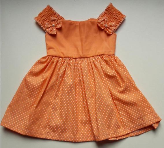 5 Und Vestido Infantil Festa Veste Até 2 Anos Atacado