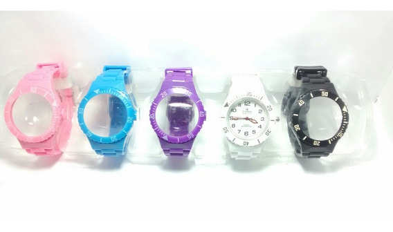 Relógio Troca Pulseira Masculino Feminino Barato Promoção