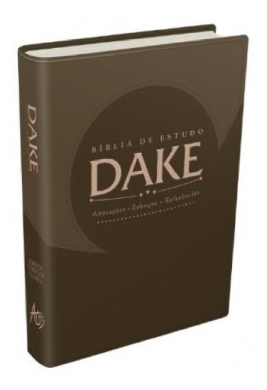 Bíblia Sagrada De Estudo Dake Dicionário Capa Lançamento.