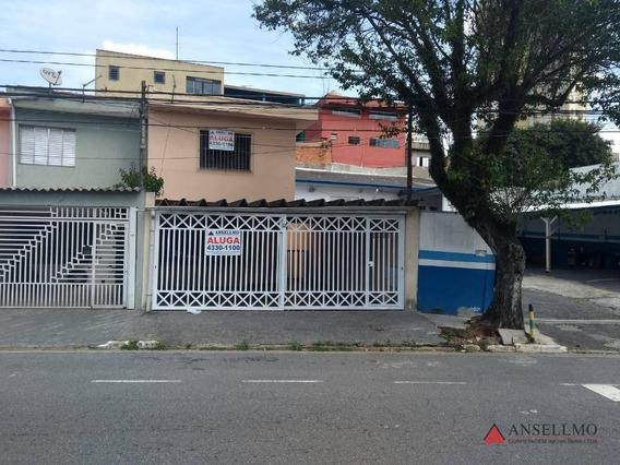 Sobrado Para Alugar, 180 M² Por R$ 2.500,00/mês - Baeta Neves - São Bernardo Do Campo/sp - So0594