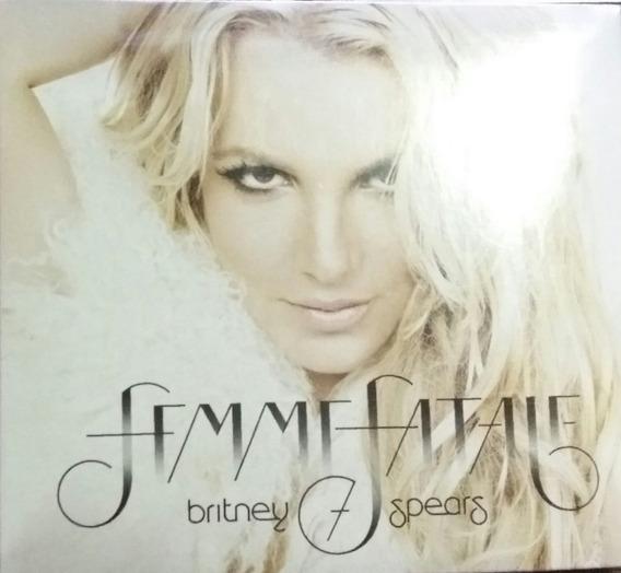 Cd Britney Spears - Femme Fatale (deluxe)