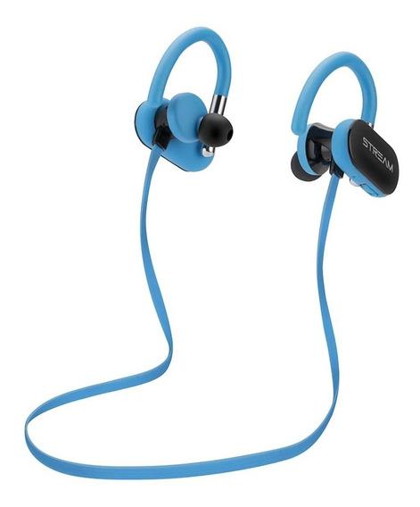 Fone Ouvido Azul Bluetooth Com Suporte Elg - Epb-dz1be
