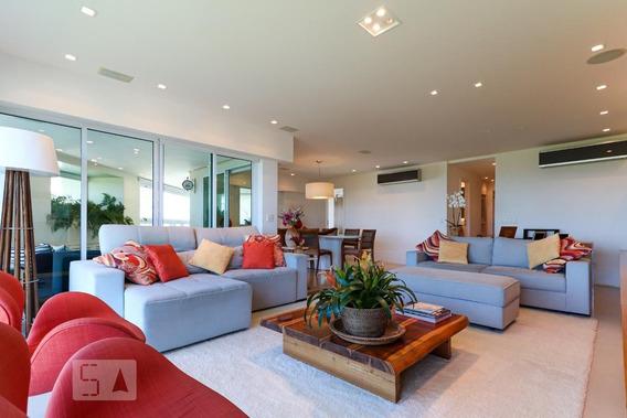 Apartamento No 9º Andar Com 4 Dormitórios E 3 Garagens - Id: 892970366 - 270366