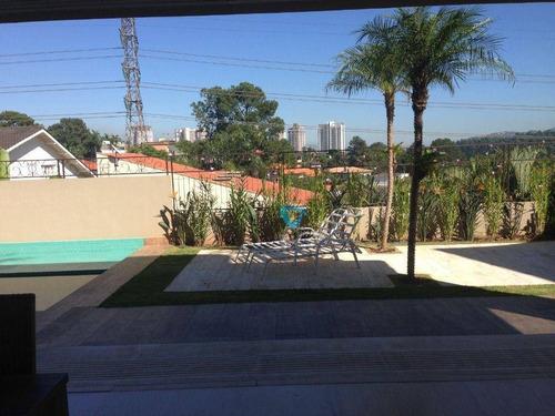 Casa Com 4 Dormitórios À Venda, 608 M² Por R$ 7.500.000,00 - Alphaville 01 - Barueri/sp - Ca1598