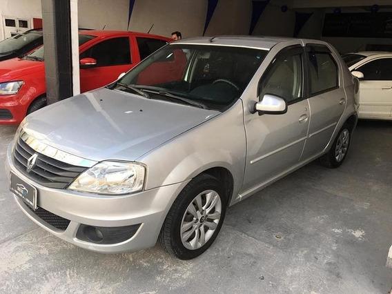 Renault Logan 1.0 - 2013 Flex - Completo.