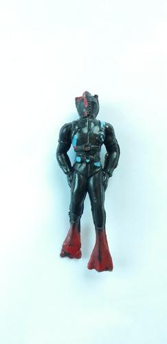 Imagen 1 de 2 de Antiguo Soldadito De Plástico Hombre Buzo
