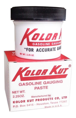 Imagen 1 de 4 de Lk Industries - Pomada Reveladora Gasolina Kolor Kut
