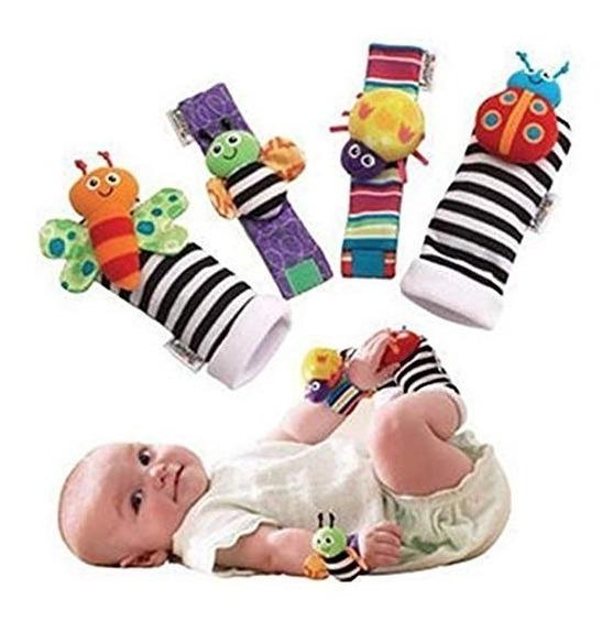 Calcetines Para Bebé Con Diseño De Animales Con Textura Pps