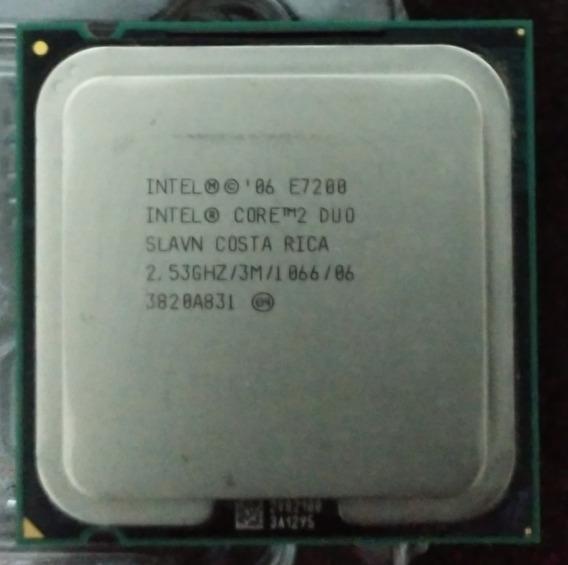 Processador Intel Core 2 Duo E7200 2,53ghz Socket 775.