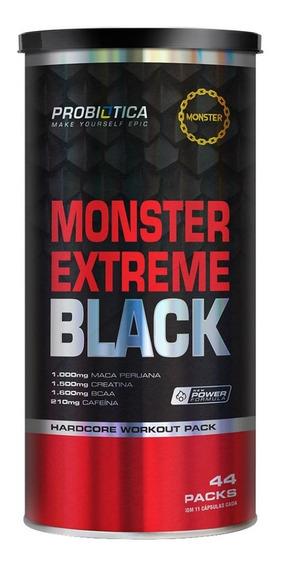 Monster Extreme Black - 44 Packs - Probiótica
