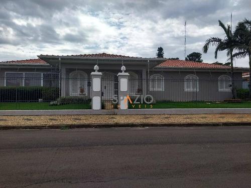 Imagem 1 de 30 de Casa Residencial À Venda, Jardim Claret, Rio Claro. - Ca0140