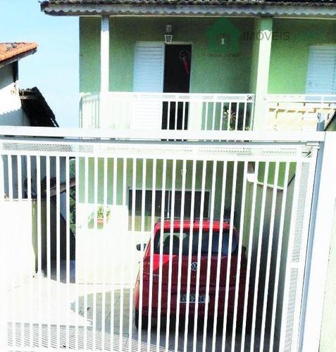 Imagem 1 de 18 de Sobrado Residencial À Venda, Parque Monte Alegre, Taboão Da Serra. - So0075