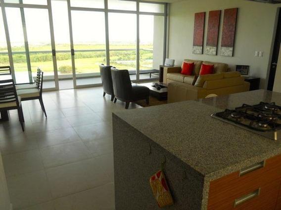 Depto Amueblado Renta 2 Rec Con Vista Al Mar Pto Cancun