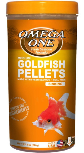 Goldfish Medium Pellets 226g - g a $128