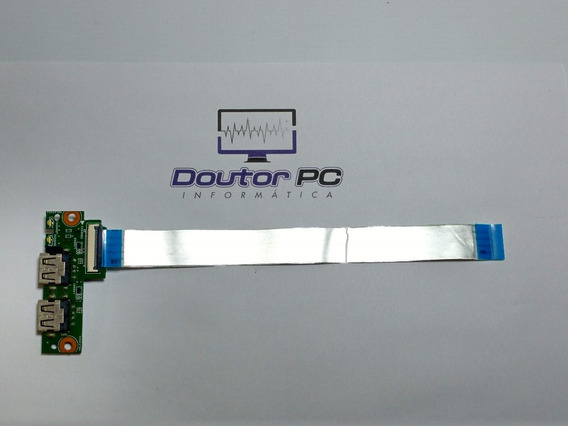 Placa Usb Lateral + Flat Notebook Hp Pavilion 14 D027br
