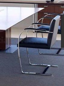 Cadeira Bruno Couro Preta