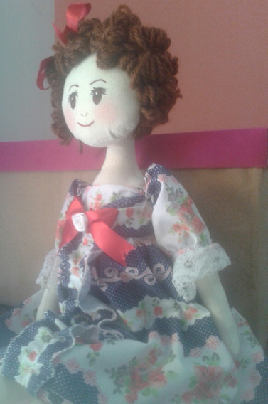 Boneca De Pano (45 Cm), Decoração, Lembrança