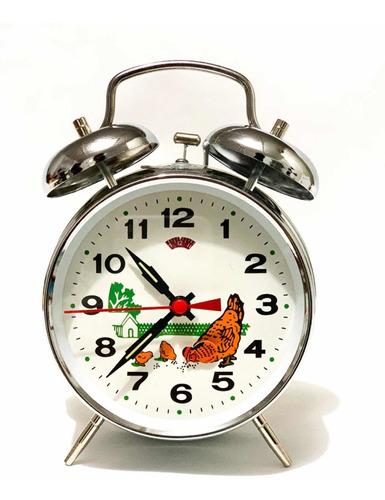 Reloj Despertador De Cuerda Clásico
