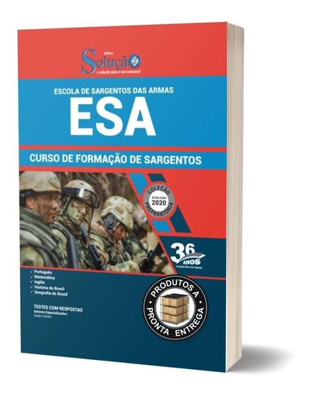 Apostila Esa 2020 - Escola De Sargentos Das Armas - Solução