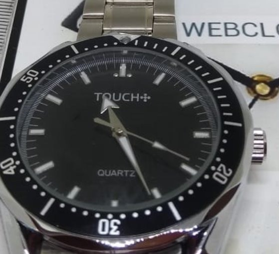 Relógio Touch T05208a Masculino Quartz Webclock
