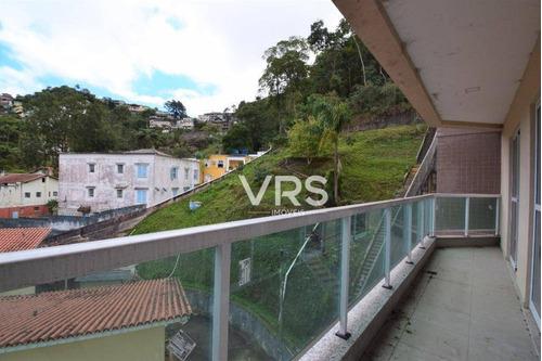 Apartamento Com 1 Dormitório À Venda, 42 M² Por R$ 320.000,00 - Várzea - Teresópolis/rj - Ap0336