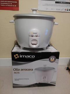 Olla Arrocera Imaco Rc15 1.5l - Blanco