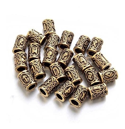 Runa Vikingo Para Brazalete Paracord Llavero Pulsera Beads
