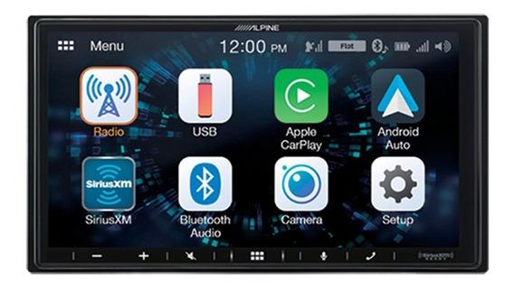 Estereo Alpine Ilx-w650 Doble Din 7 Car Play-android-bt