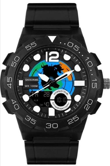 Reloj De Moda Táctico Militar Multifuncional Contra Agua