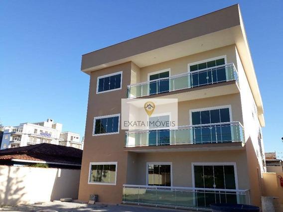 Apartamento 02 Quartos/suíte Próximo A Praia De Costazul, Rio Das Ostras. - Ap0398