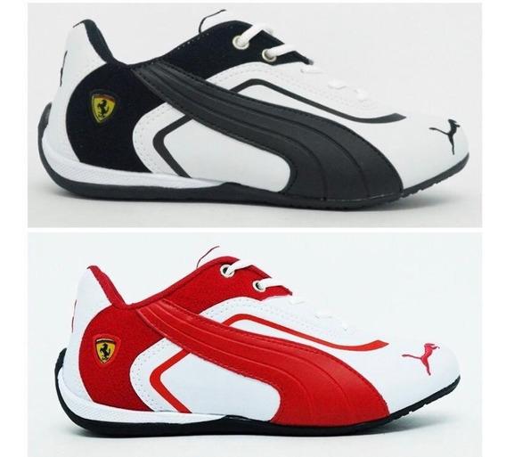 Kit 2 Pares Tenis Ferrari Masculino Frete Grátis Original