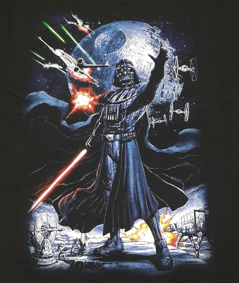 Moletom Star Wars Darth S/capuz Chemical Cm1334