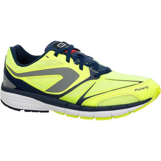 Tenis De Atletismo Para Niño Amarillo/azul 8351508