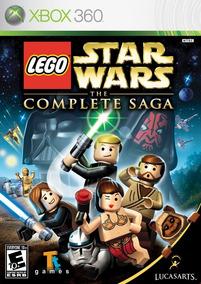 Lego Star Wars Saga Completa Xbox 360 - Mídia Digital