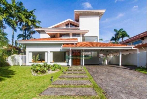 Sobrado Com 4 Dormitórios À Venda, 350 M² Por R$ 3.200.000 - Costa Verde Tabatinga - Caraguatatuba/sp - So0571