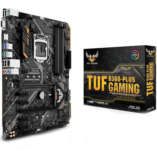 Placa-mãe Asus Tuf B360-plus Gaming Ddr4 8ª Geração Ga 1151