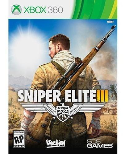 Jogo Sniper Elite 3 Xbox 360 Mídia Física Original Lacrado