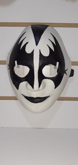Máscara De Látex Rostro Kiss Gene Simmons Música