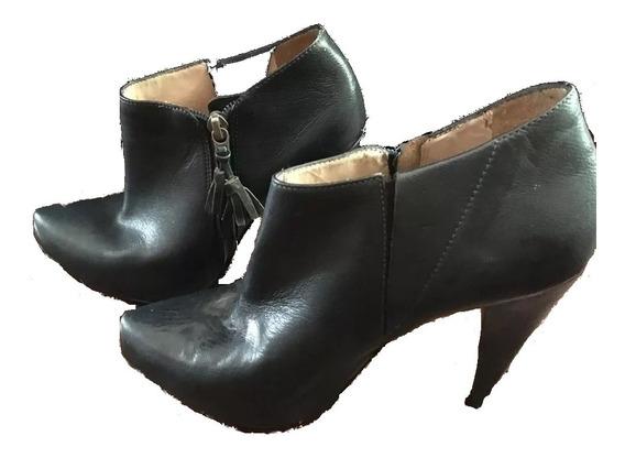 Bota Sapato Feminino Ankle Boot Claudina - T35