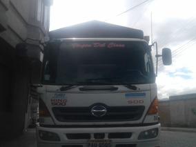 Camión Hino Gh, Cajón De Madera