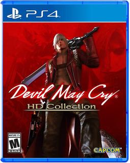 Devil May Cry Hd Collection Ps4, Disco, Nuevo Y Sellado