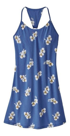 Liq Vestido Mujer Edisto Dress Azul Imperial Xs Patagonia