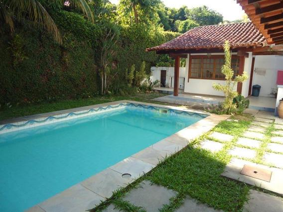 Casa Com 4 Dormitórios Para Alugar Por R$ 5.000/mês - Itaipu - Niterói/rj - Ca0080