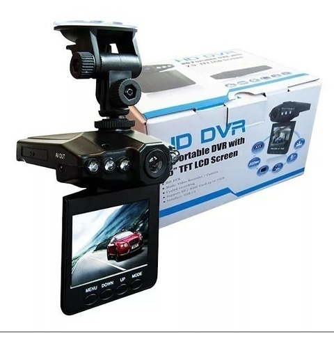 Camara Para Carro Dvr Hd Lcd 2.5  Vision Nocturna Bateria