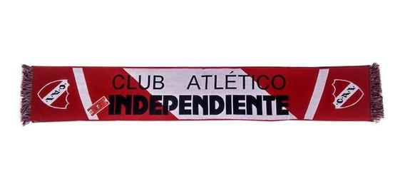 Bufanda Tejida Pesada Independiente In601 Licencia Oficial