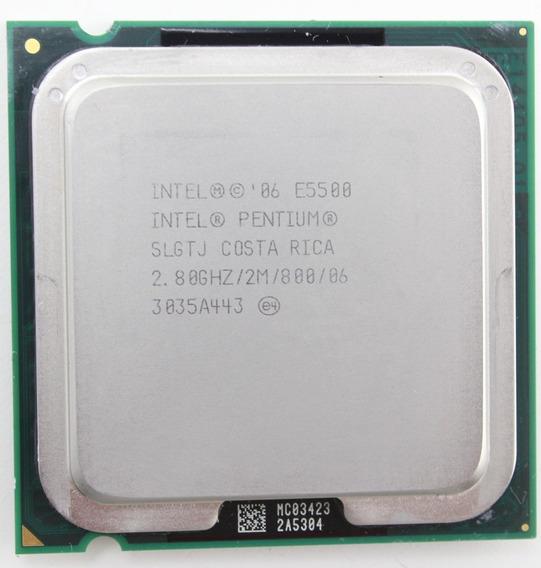 Processador Intel Dual Core E5500 2.80ghz Lga775 2mb 1066mhz