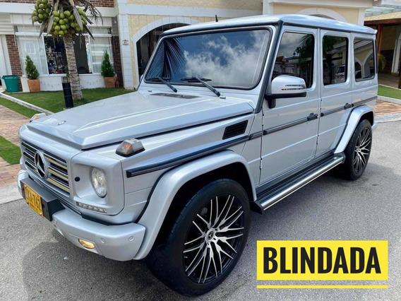 Mercedes Benz Clase G Diesel Blindada 2016
