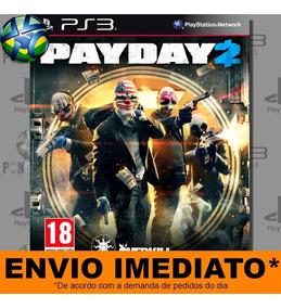 Ps3 Payday 2 | Psn Midia Digital | Envio Agora - Promoção