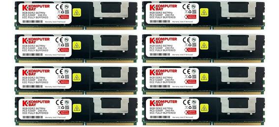 Memoria Ram 32gb (8x4gb) Ddr2 667mhz Pc2-5300 Komputerbay B