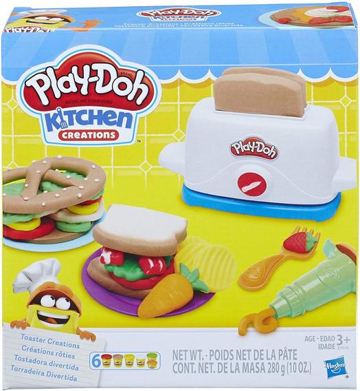 Play Doh Kitchen Tostadora Divertida